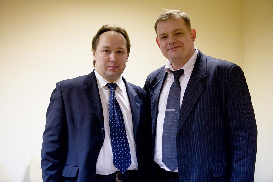 Дмитрий Орлов, Андрей Дынников, члены учредительного собрания Внешторгклуба