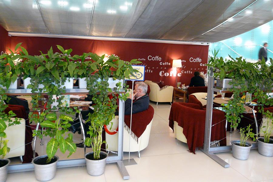Кафе Внешторгклуба Coffe Boutique в Новинском Пассаже 2005-2010