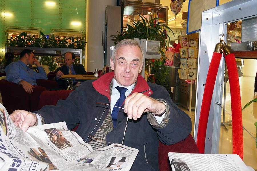 Александр Звегинцев, встречи Внешторгклуба в Новинском Пассаже 2005-2010