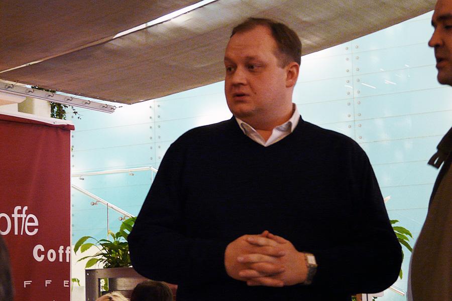 Дмитрий Ляшок, встречи Внешторгклуба в Новинском Пассаже 2005-2010