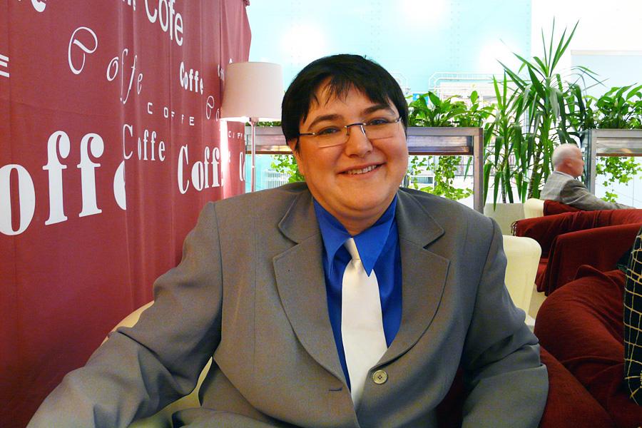 Елизавета Горюнова, встречи Внешторгклуба в Новинском Пассаже 2005-2010