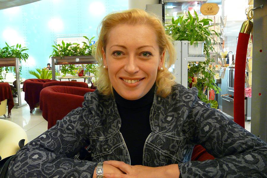 Светлана Заблоцкая, встречи Внешторгклуба в Новинском Пассаже 2005-2010