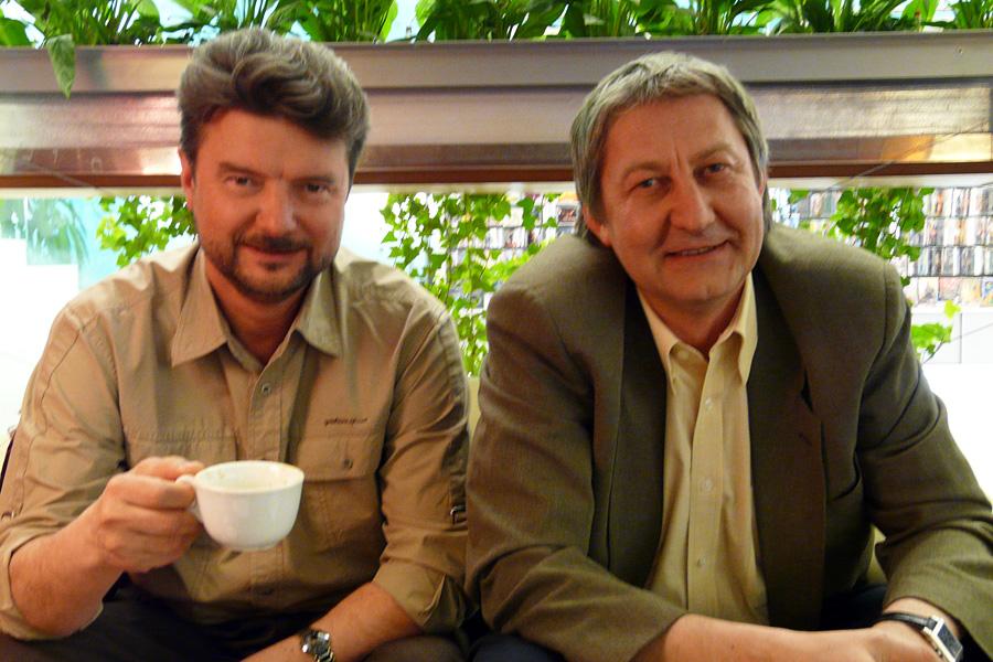 Олег Казанцев, встречи Внешторгклуба в Новинском Пассаже 2005-2010