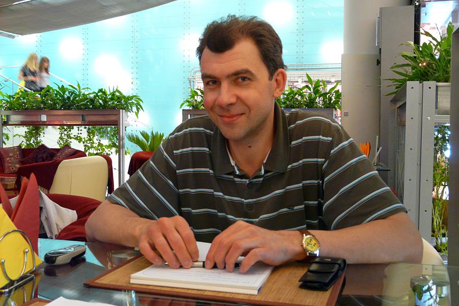 Дмитрий Хомутский, встречи Внешторгклуба в Новинском Пассаже 2005-2010