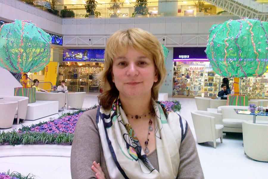 Мария Камшечко, встречи Внешторгклуба в Новинском Пассаже 2005-2010