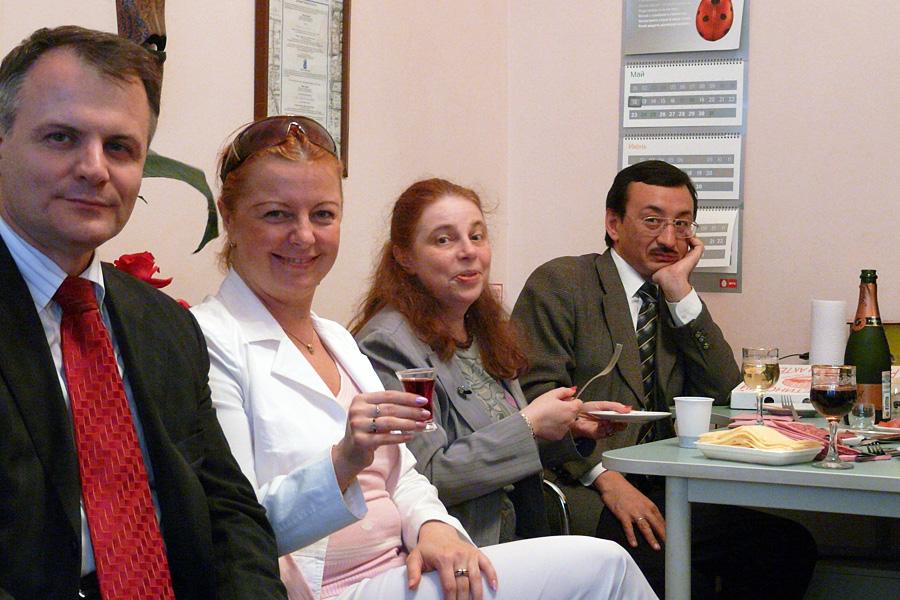 Иван Сурма, Оксана Юдакова, Елена Лозовская, Андрей Гаврилов, Внешторгклуб в лицах 2005-2010