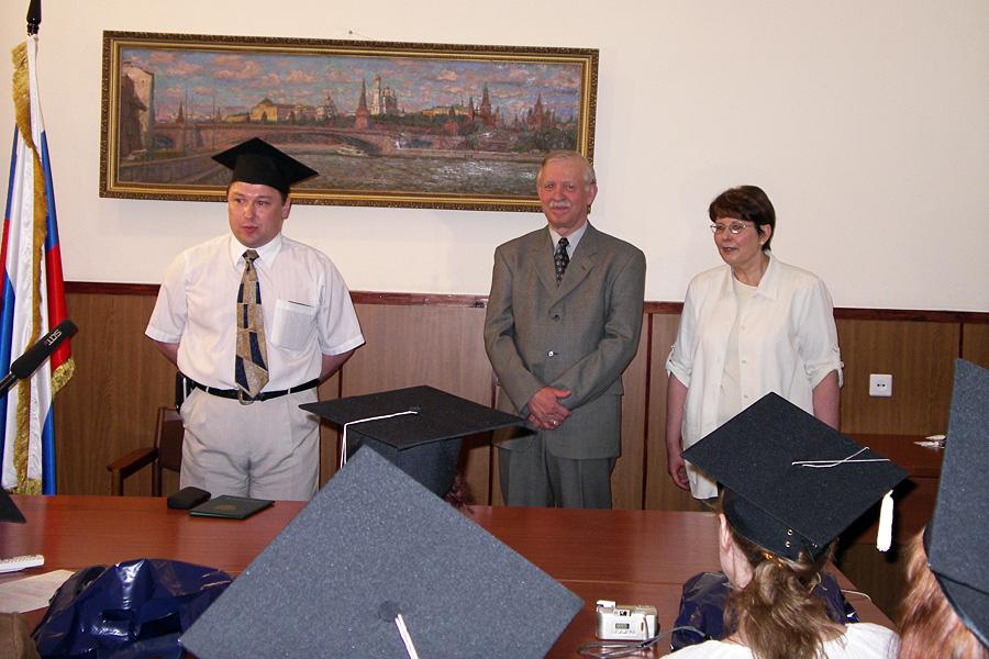 Дмитрий Орлов, Сергей Долгов, Ольга Андреева, Внешторгклуб в лицах 2005-2010