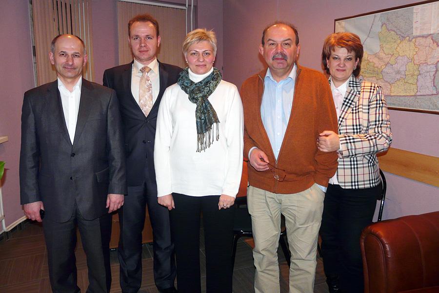 Владимир Жильцов, Олег Печенюк, Светлана Борцова, Андрей Мрост, Лариса Казакова, Внешторгклуб в лицах 2005-2010
