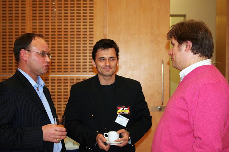 Сергей Македонский, Внешторгклуб и British Alumny Club проводят круглый стол «Mobile convergence» в Посольстве Великобритании, 2007
