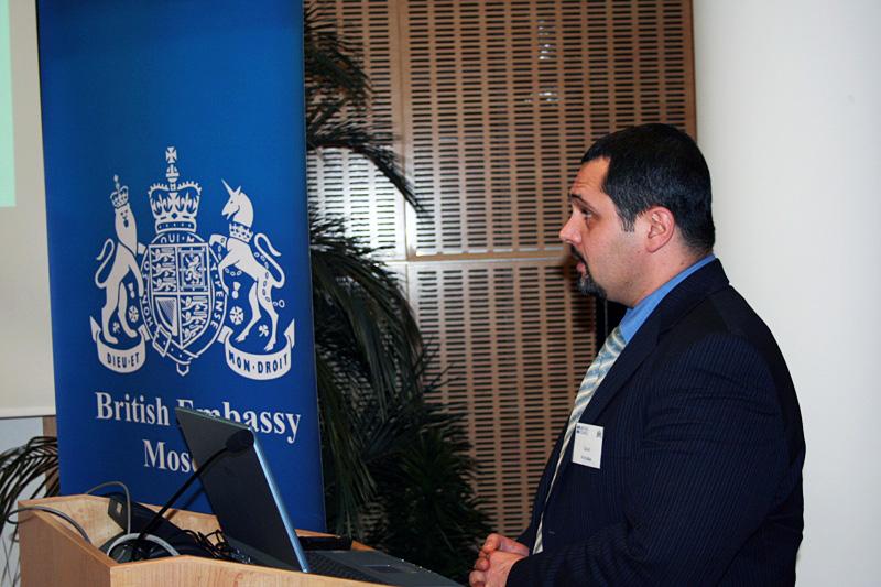 Давид Вачадзе, Внешторгклуб и British Alumny Club проводят круглый стол «Mobile convergence» в Посольстве Великобритании, 2007